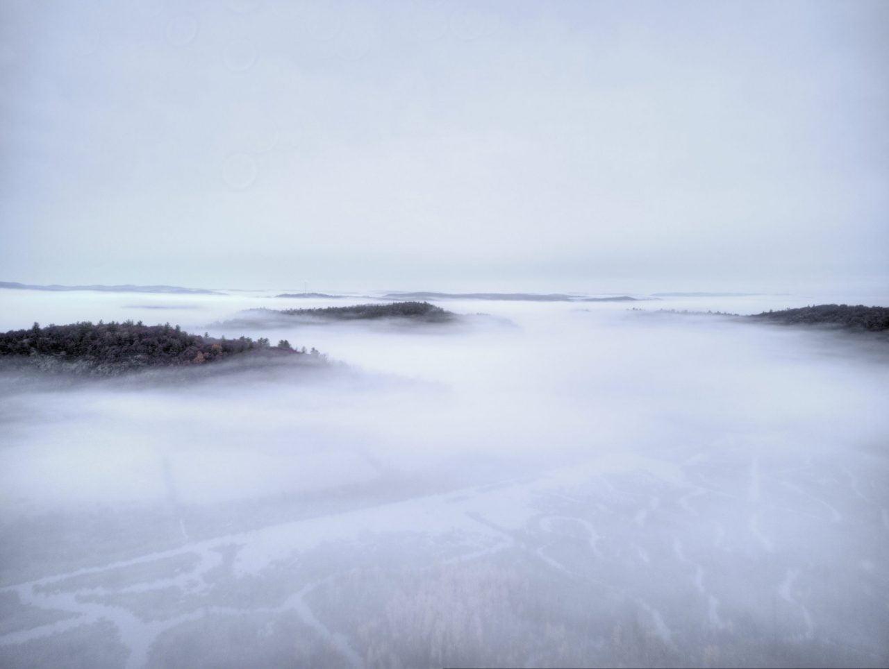 Photographie du brouillard a Eco-Odyssée dans Wakefield