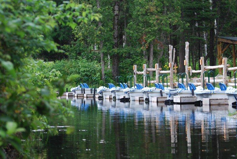 Photoggraphie du quai sur le site d'Eco-Odyssée