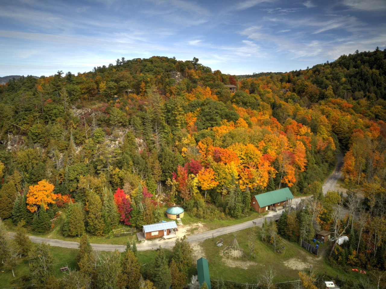 Photographie d'Eco-Odyssée a l'automne