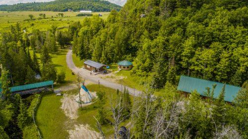 Photo présentant le site principal de Eco-Odyssee